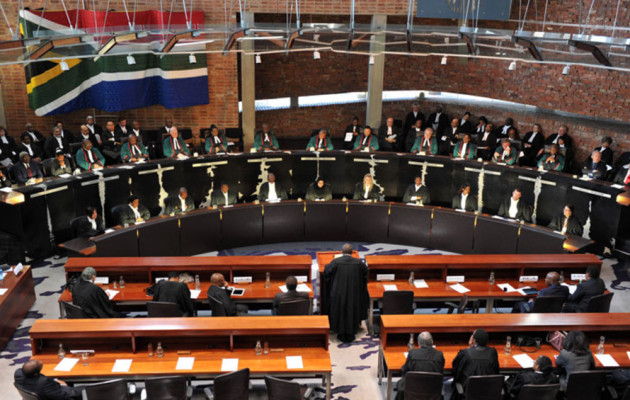 South Africa's Constitutional Court 31 March 2016