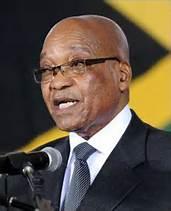 Präsident Jacob Zuma
