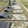 Sharpeville: THE  69 GRAVES following the  Massacre of 21 March 1960 photographed on 19.02.2015