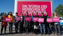 amnesty international: DIE WÜRDE DES MENSCHEN IST UNANTASTBAR