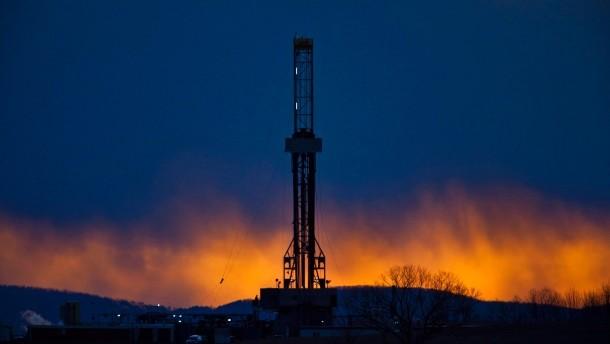 Fracking in Pennsylvania. Sieht es auch bald in der südafrikanischen Karoo so aus?