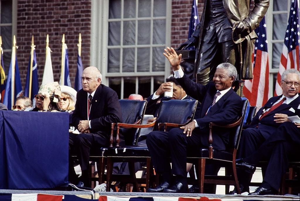 F.W. de Klerk / Nelson Mandela 1993